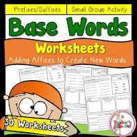 Base Word Worksheets