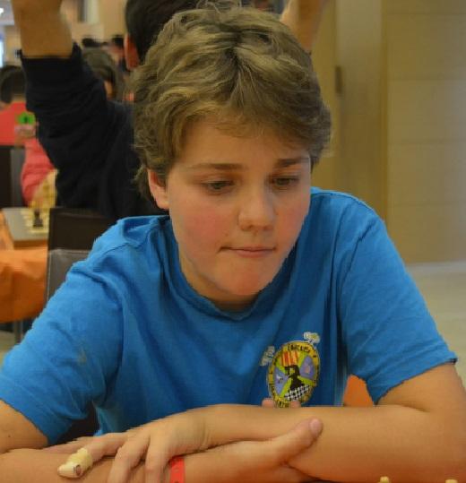 El ajedrecista Sub-12 ARTUR TALTAVULL HIDALGO