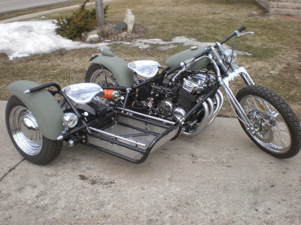 motorcycle side sidecar sidecars motorcycles cars custom frame scooter modifications bmw motorbikes tricycle road building street trike harleys honda visit