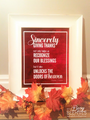 Thanksgiving Printable quote