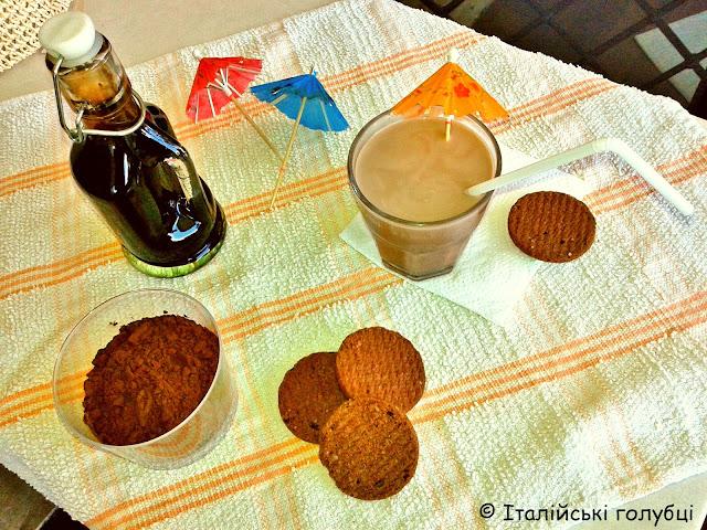 шоколадний сироп для морозива і вафель