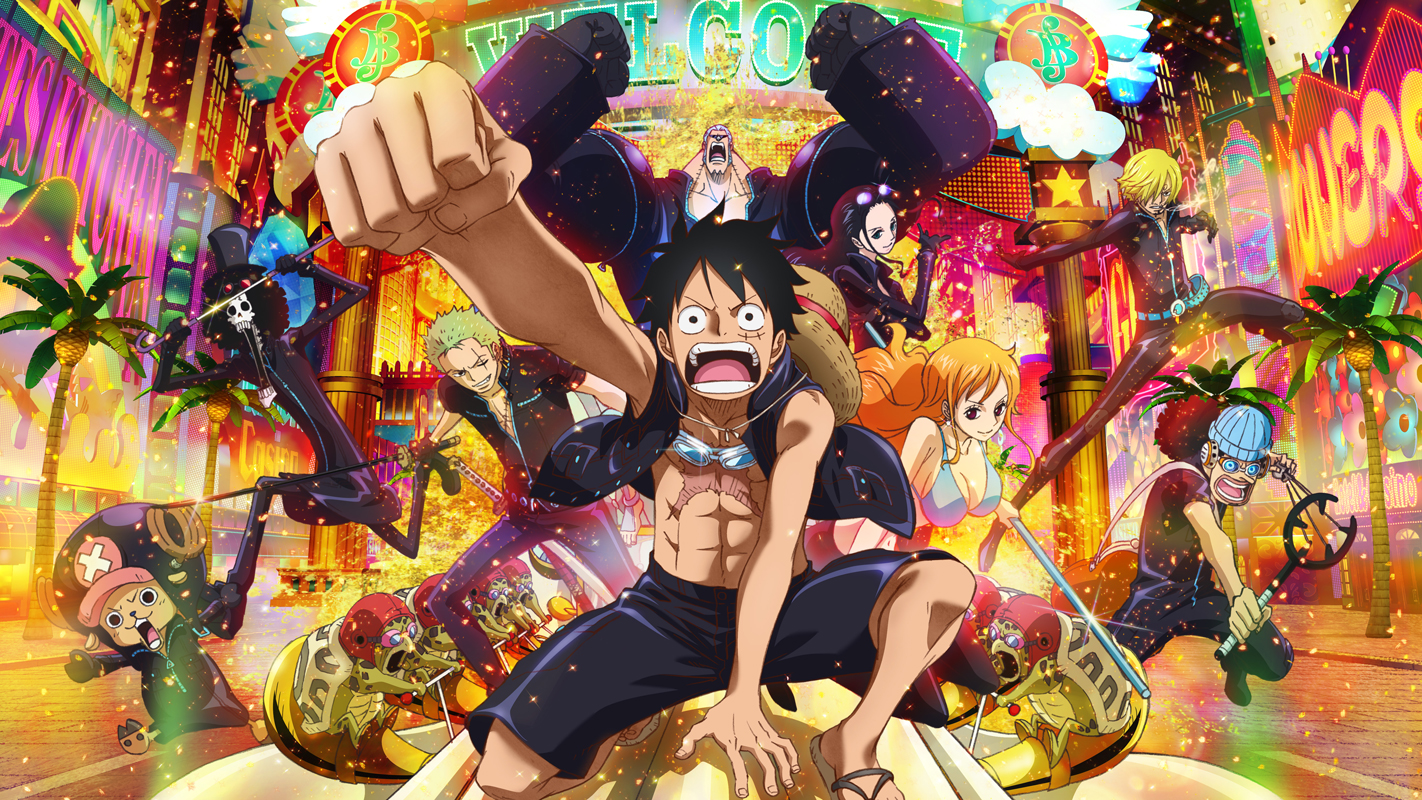 One Piece Filme Gold (2017) Torrent – BluRay 720p Legendado Download