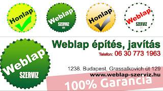 http://weblap-szerviz.hu