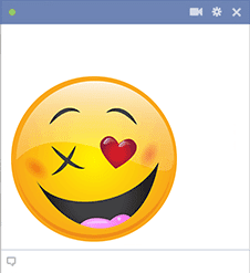 Love Wink Smiley for Facebook