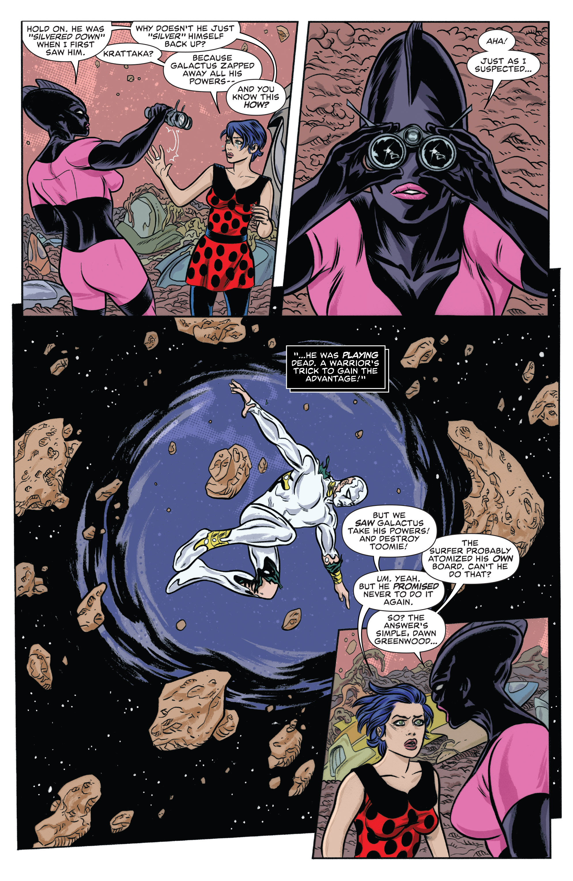 Read online Silver Surfer (2014) comic -  Issue #10 - 4
