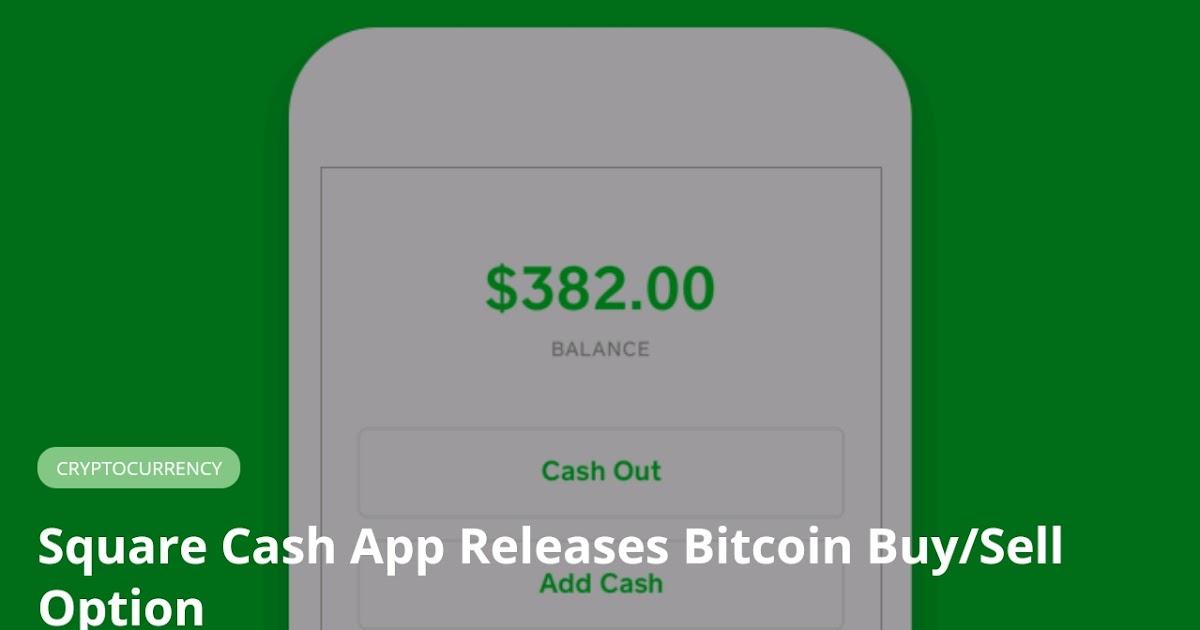 bitcoin sell cash