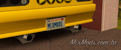 gta sa san mod salvar placa carro garagem garage license plate