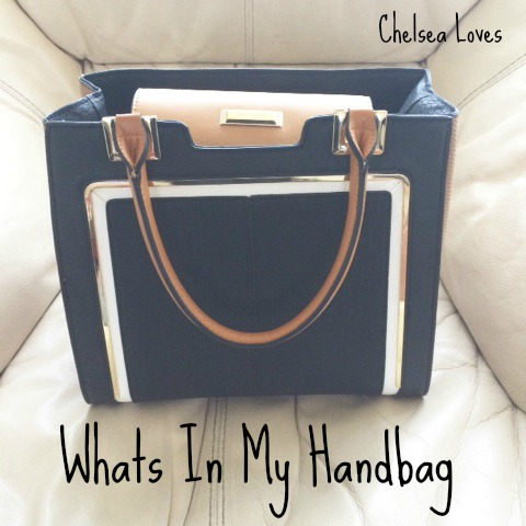 Tag, Whats in my handbag, chelsea loves