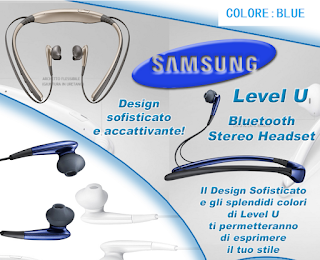 AURICOLARI CUFFIE STEREO BLUETOOTH SAMSUNG HEADSET LEVEL U EO ... 31b7cd25c221