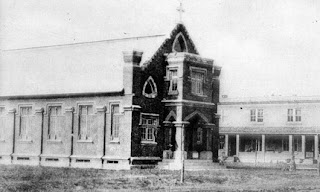 Photo of Holy Redeemer Church in Kissimmee in the 1910s