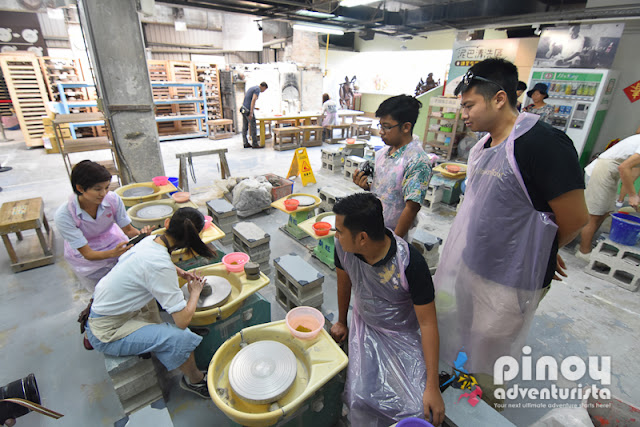 POTTERY WORKSHOP IN TAIWAN
