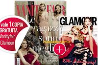 Logo Vanity Fair ti regala il numero di marzo di Glamour