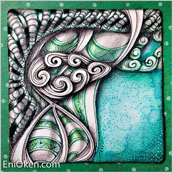 09-Zendoodle-Eni-Oken-Color-and-Black-and-White-Zentangle-Drawings-www-designstack-co