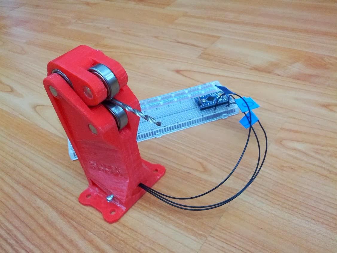 DIY 3D Printing: DIY Filament Diameter Sensor Projects