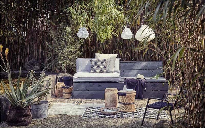 divanetto da giardino fai da te con il legno