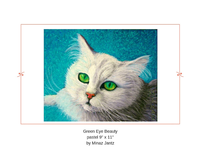 Green Eye Beauty by Minaz Jantz