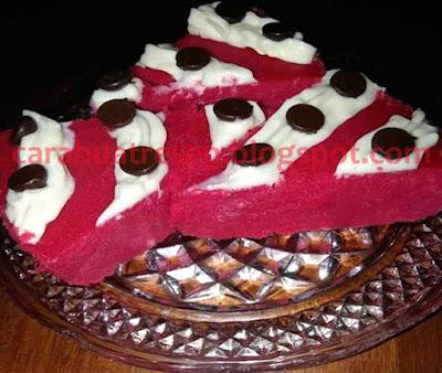 Foto Resepi Puding Roti Red Velvet Kukus Sederhana Spesial Asli Enak