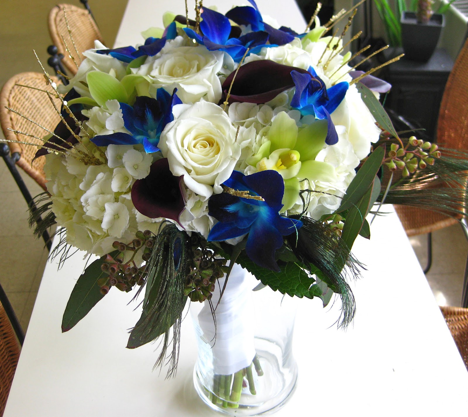 how much are bouquets for weddings 1000 images about blue orchid inspired centerpieces on 4876
