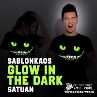 Kaos Keren dengan Sablon Kaos Glow In The Dark Order Satuan Saja