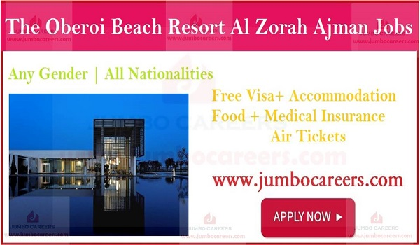Latest 5 star hotel jobs in Ajman, Available hotel jobs in UAE,