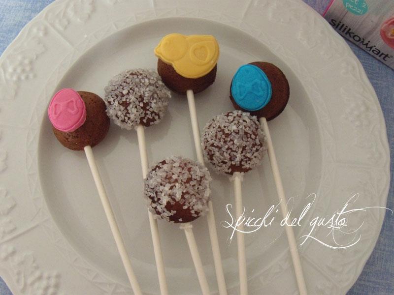Cake pops al cioccolato