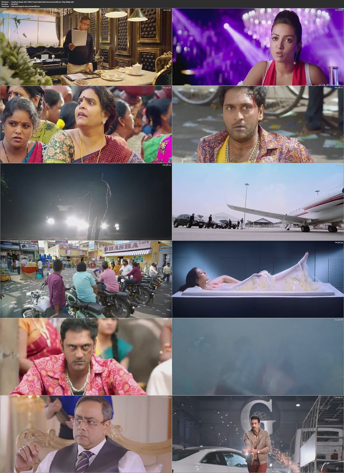 Goutham Nanda 2017 Dual Audio Hindi Full Movie HDRip 720p 1GB at movies500.info