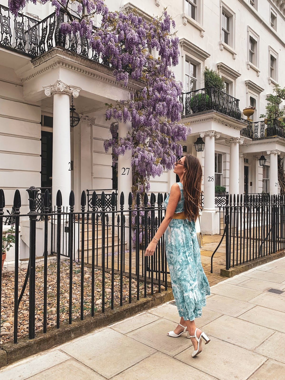 wisteria london blogger