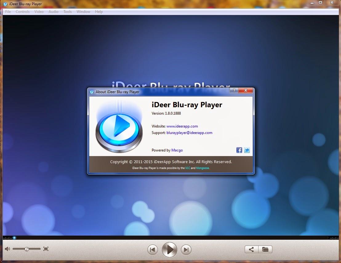Ideer blu ray player 1.2.4.1193 crack