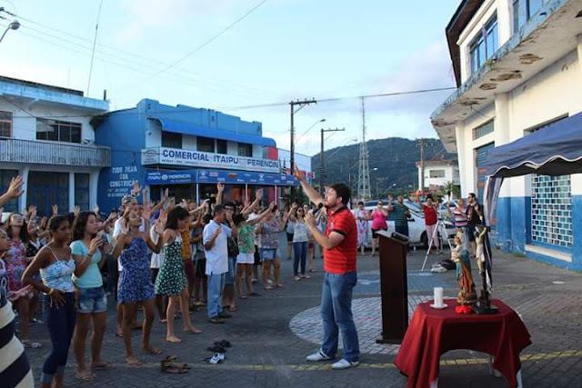 Retiro de Carnaval da Renovação Carismática Católica da Diocese de Registro-SP