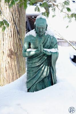 Le Chameau Bleu- Voyage au Japon dans le Tohoku - Kakunodate sous la neige
