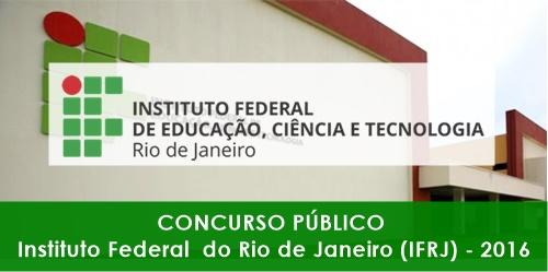 Apostila Concurso IFRJ RJ 2016