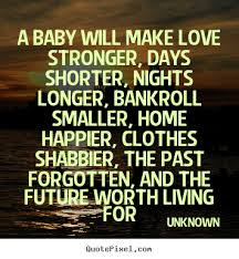 Quotes That Will make Love With Everything:  longer,  bankroll smaller, home happier, clothes shabbier,