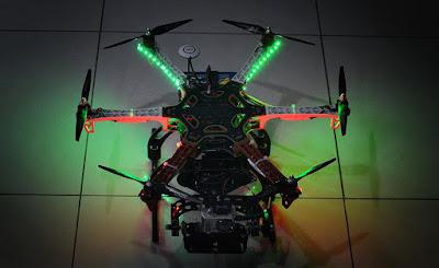 Hexcopter Drone era tahun 2013