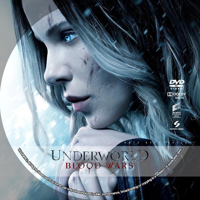 Underworld Blood Wars DVD Label