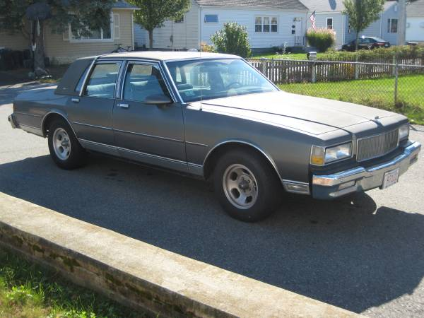 Daily Turismo: Hip To B-Body Square- 1987 Chevy Caprice Classic