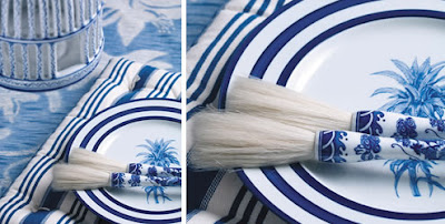 8 Azul & Branco