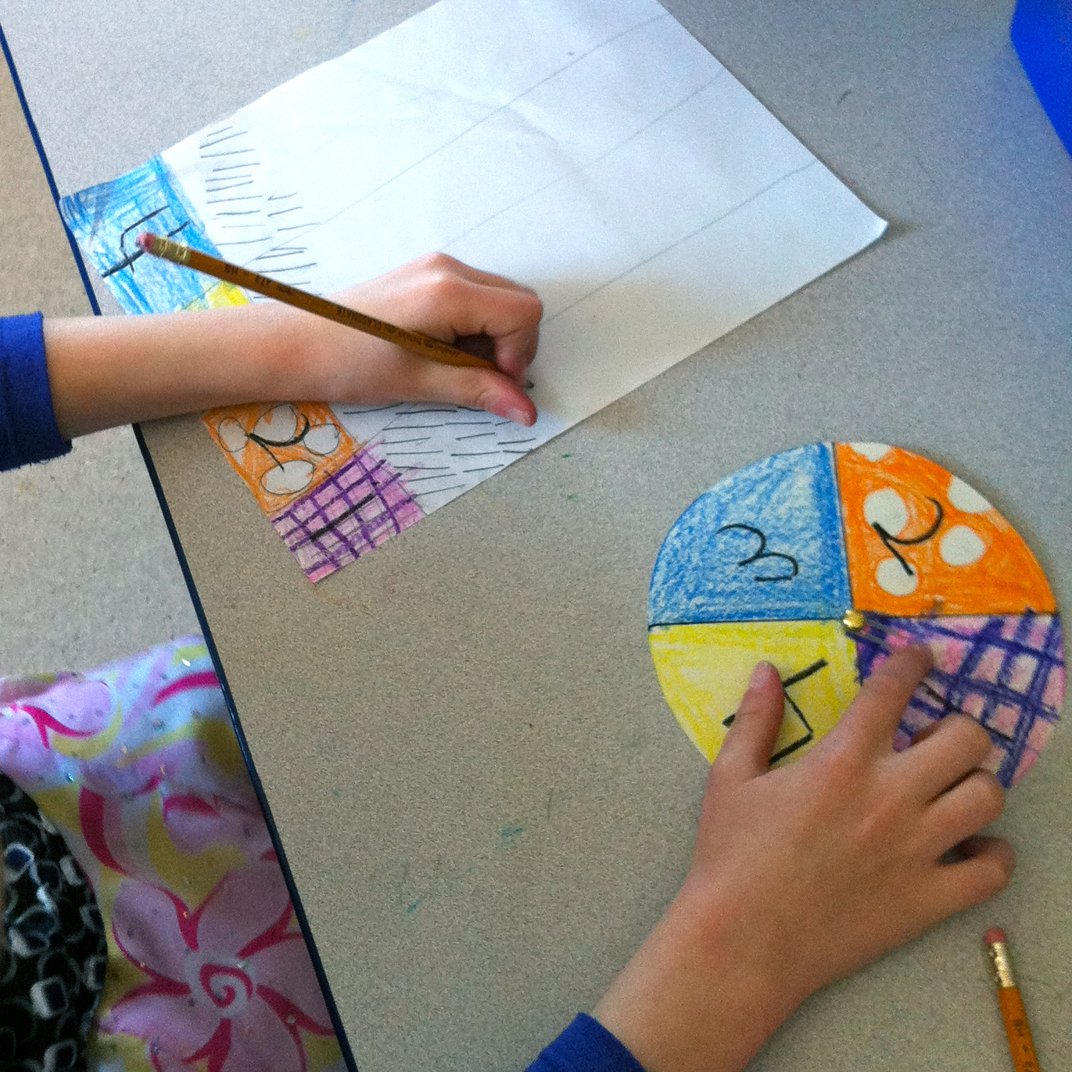 Fun With Firsties Earth Day Probability And Kandinsky Oh My