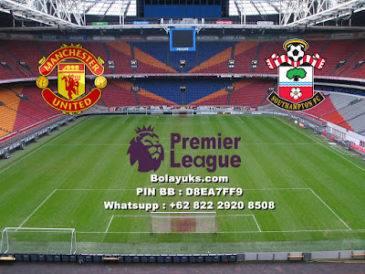 Prediksi Bola Liga Inggris, Manchester United Versus Southampton 31 Desember 2017