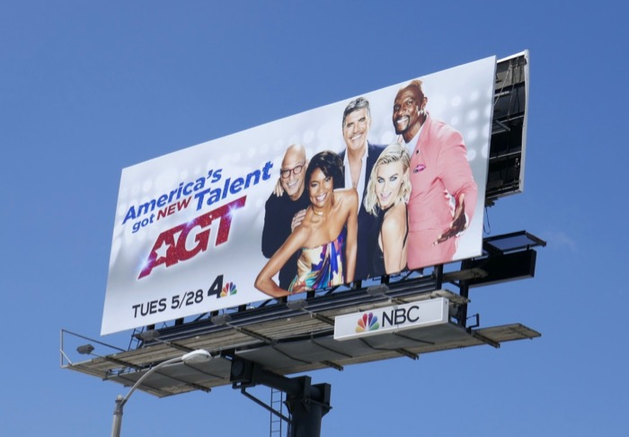 Americas Got Talent season 14 billboard