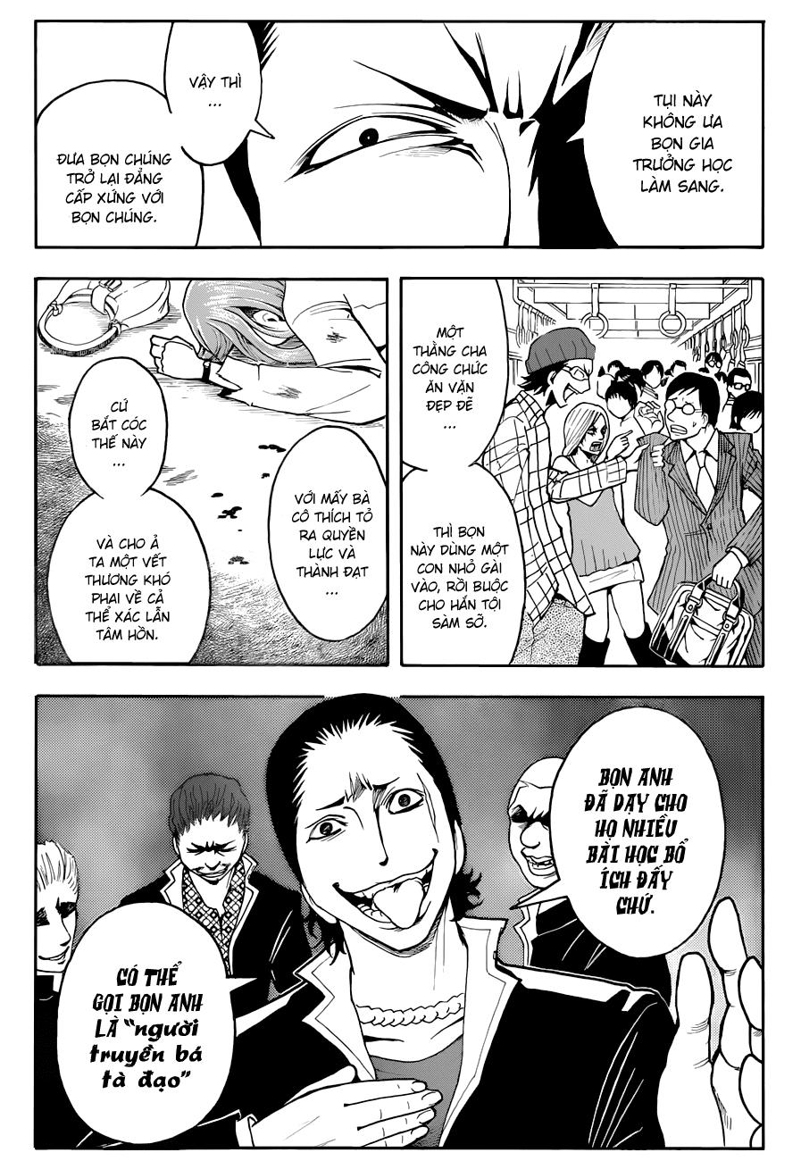 Ansatsu Kyoushitsu chap 17 trang 8