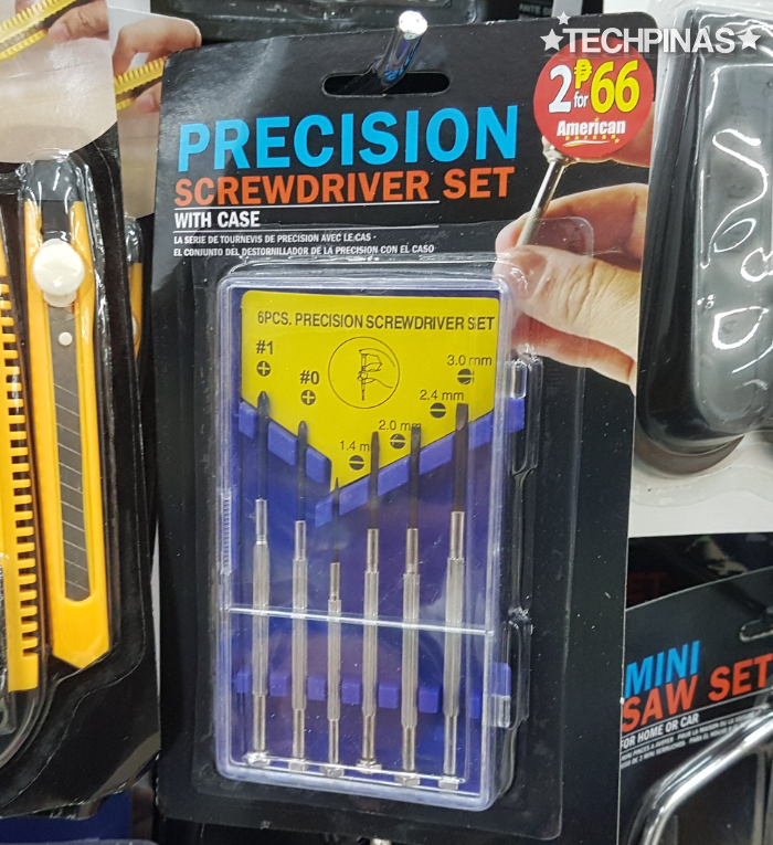 Precision Screw Driver Set