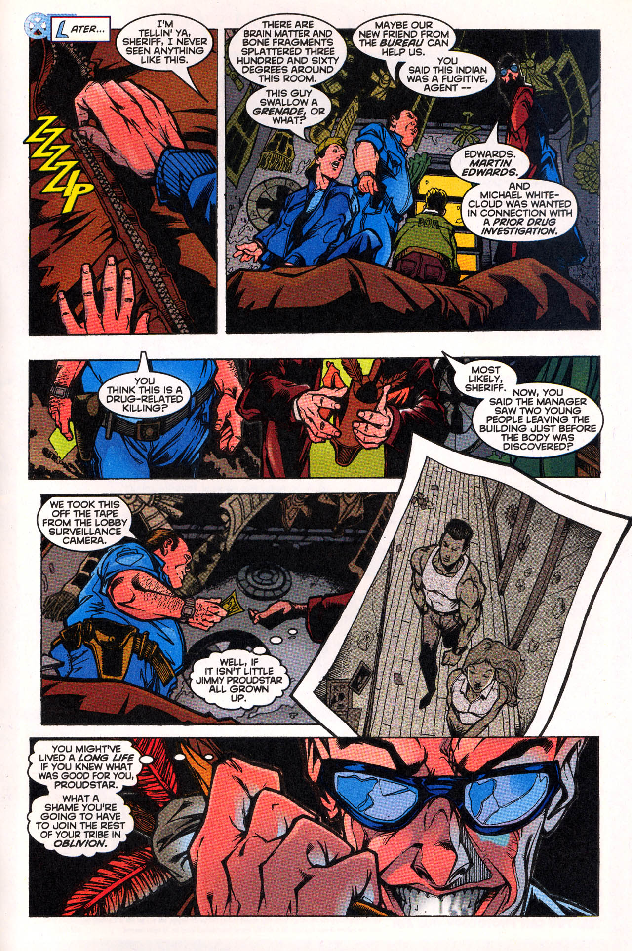 Read online X-Force (1991) comic -  Issue #72 - 29
