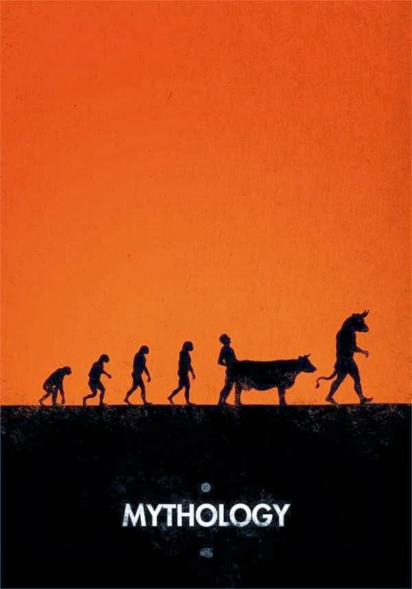 Funny Religion Evolution Mythology Meme Joke Picture