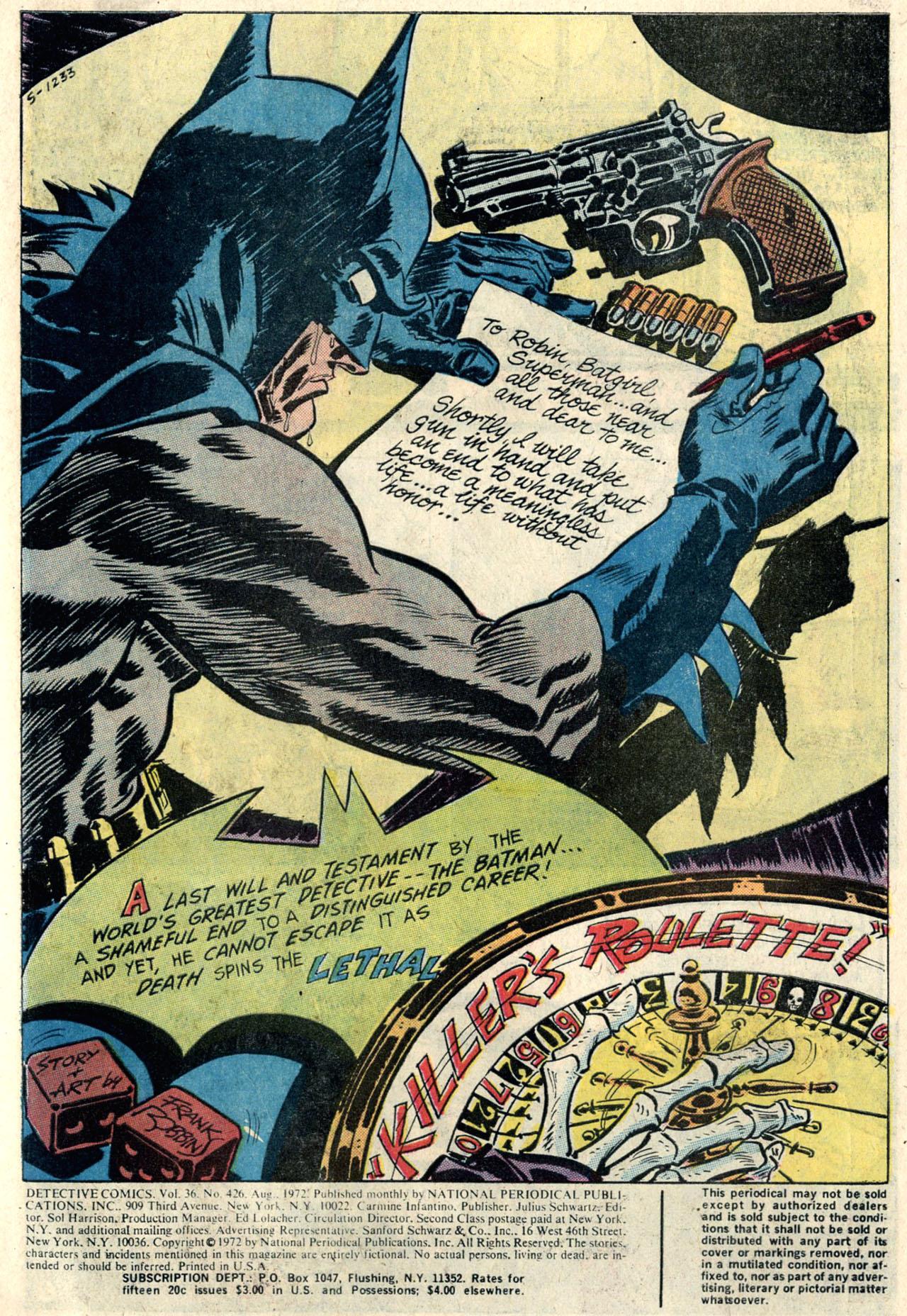 Detective Comics (1937) 426 Page 2