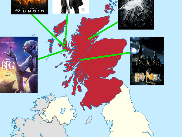 🎬Movies filmed in Scotland but NOT SET in Scotland