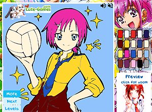 Glitter Force Coloring