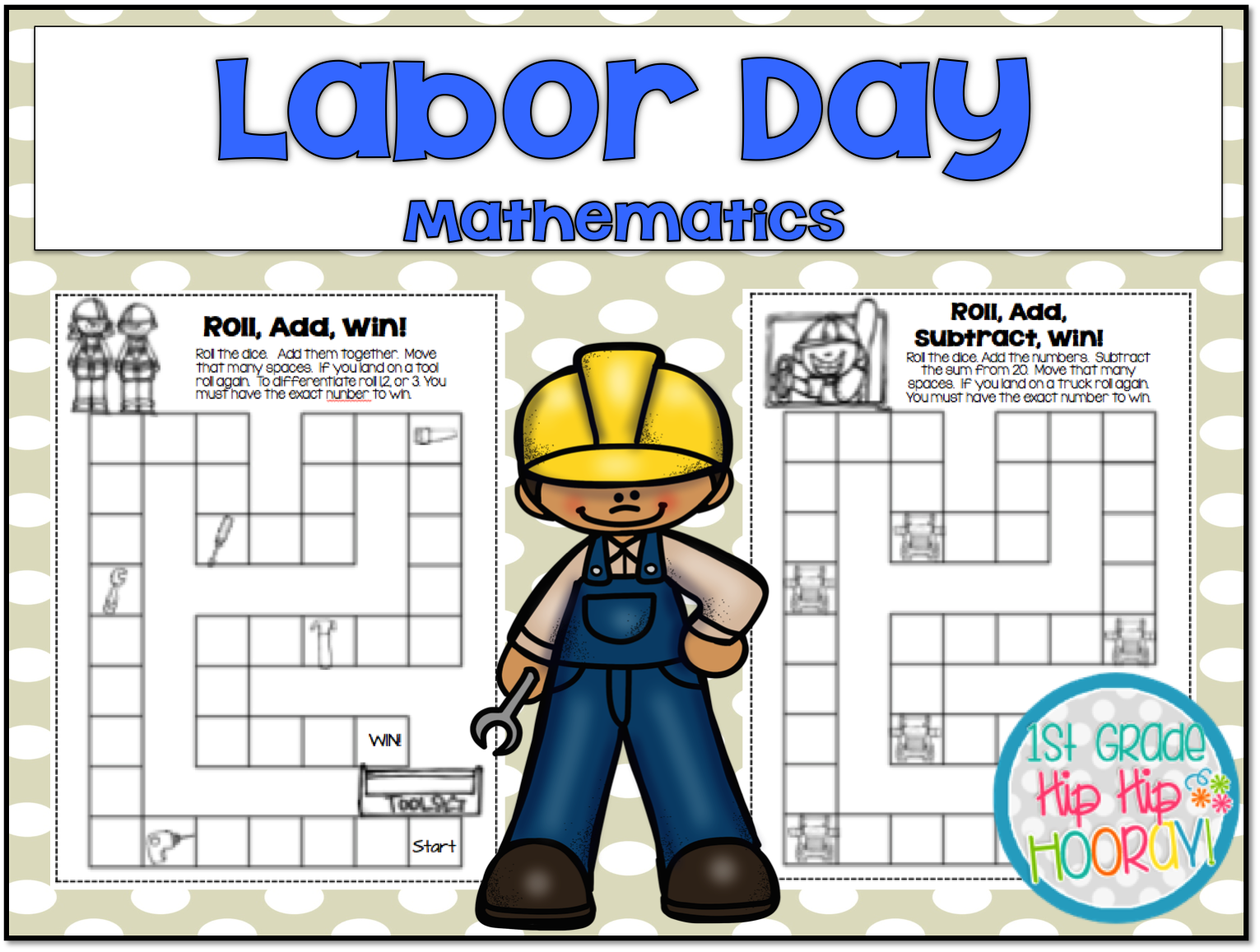 small resolution of 1st Grade Hip Hip Hooray!: Labor Day! #morethanathreedayweekend