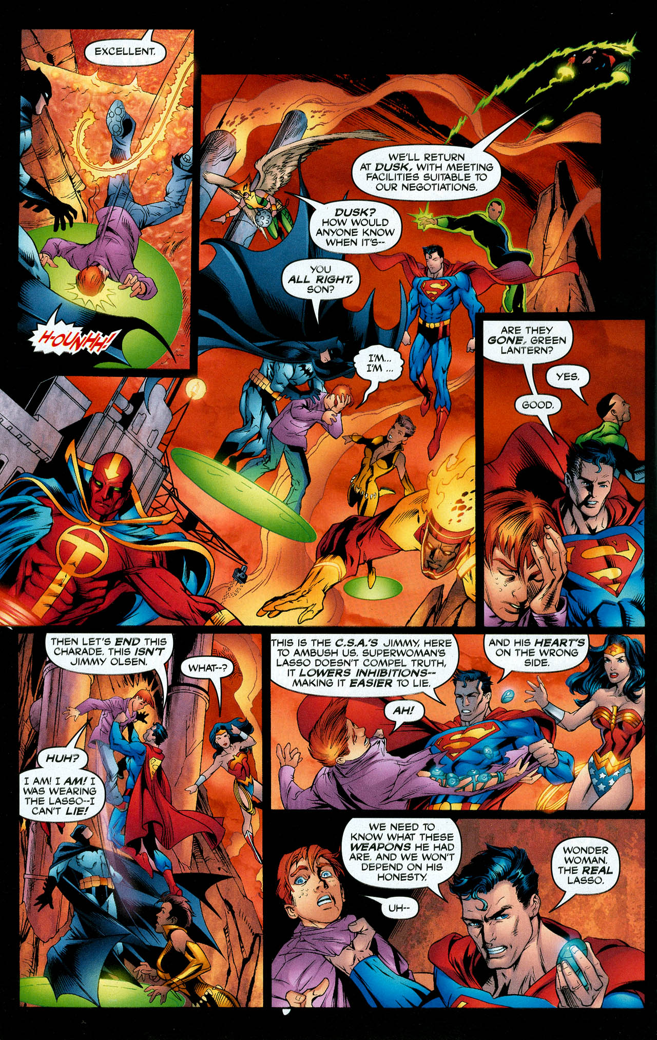 Read online Trinity (2008) comic -  Issue #11 - 7