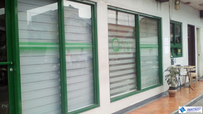 Frosted Stickers for Glass Windows - Laundry Time, Cavite