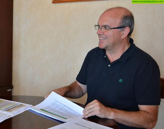El Cabildo realiza una campaña de limpieza de carreteras y anuncia que en 2020 redoblará los esfuerzos en mantenimiento